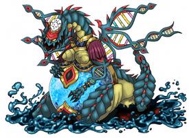 Tiamat, Draconic goddess of the primordial sea