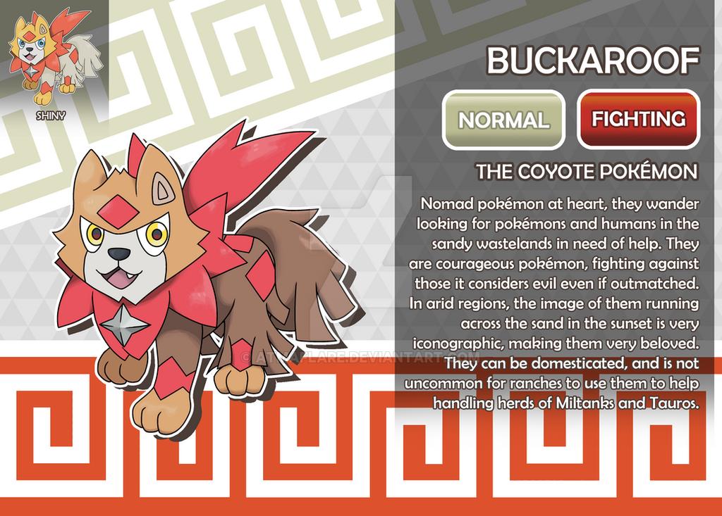 Buckaroof The Coyote Fakemon By Atmaflare On Deviantart