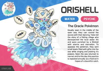 Orishell, the Oracle Fakemon