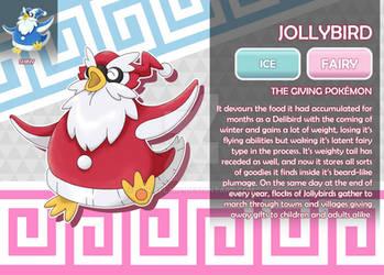 Jollybird, the Giving Fakemon