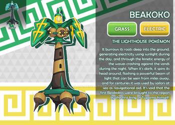 Beakoko, the Lighthouse Fakemon