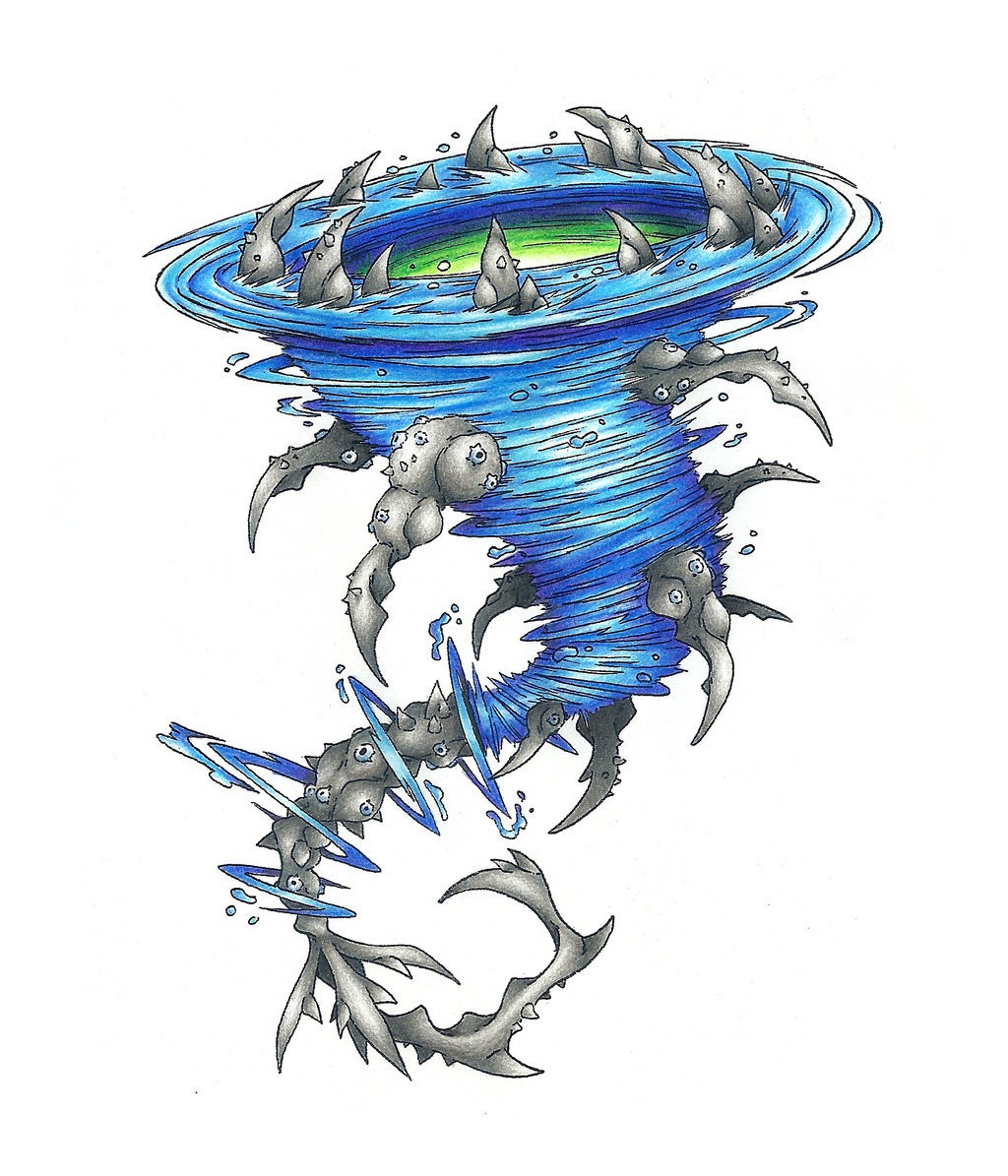 Charybdis Raging Whirlpool By Atmaflare On Deviantart