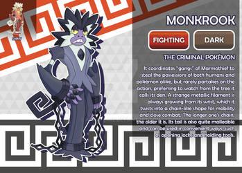Monkrook, the Criminal Fakemon
