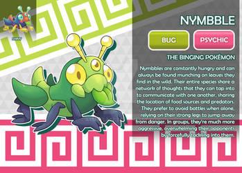 Nymbble, the Binging Fakemon