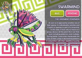 Swarmind, the Hivemind Fakemon
