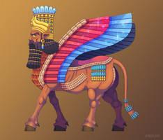 Lamassu, Ancient Protector