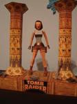 tomb raider 1 - papercraft