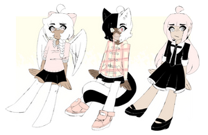 pretty n pink adoptables // CLOSED by amaisou