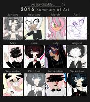 2016 summary of art by amaisou