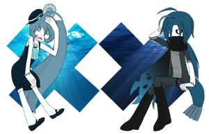 sea creature adoptables // CLOSED by amaisou