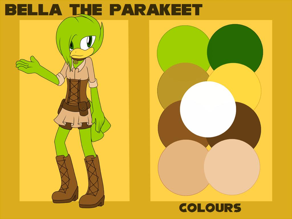 parakeet adoptable // OPEN (price dropped) by amaisou