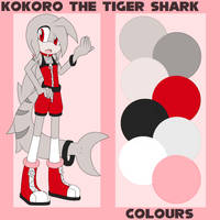 tiger shark adoptable 2 // CLOSED by amaisou