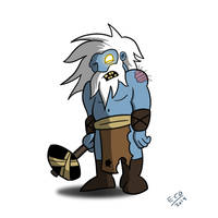 Zombie frost giant