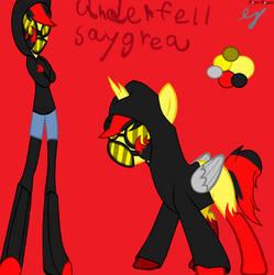 underfell saygrea by Inkdrop10