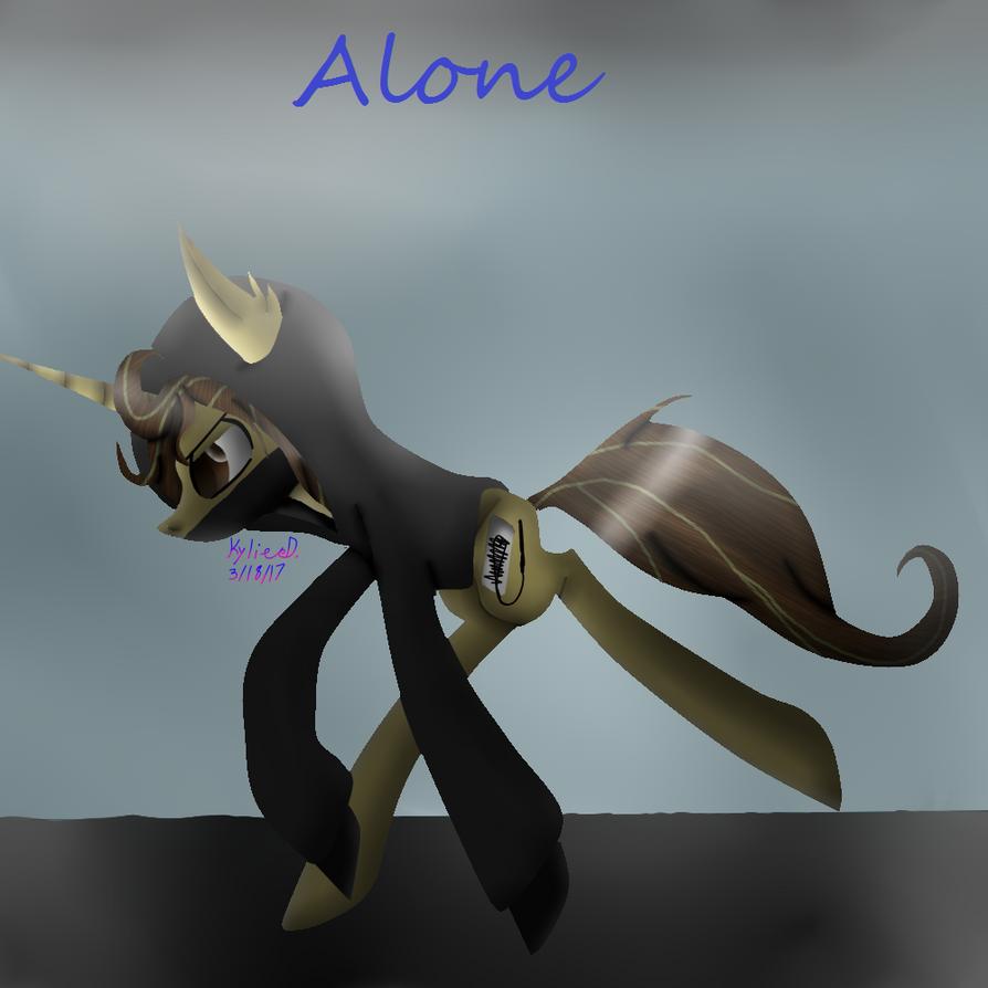 Alone(read below please) by Inkdrop10