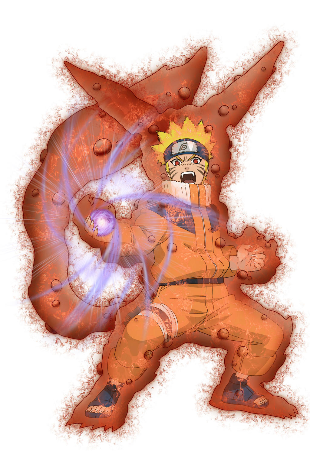 naruto kyuubi cloak mode - photo #35