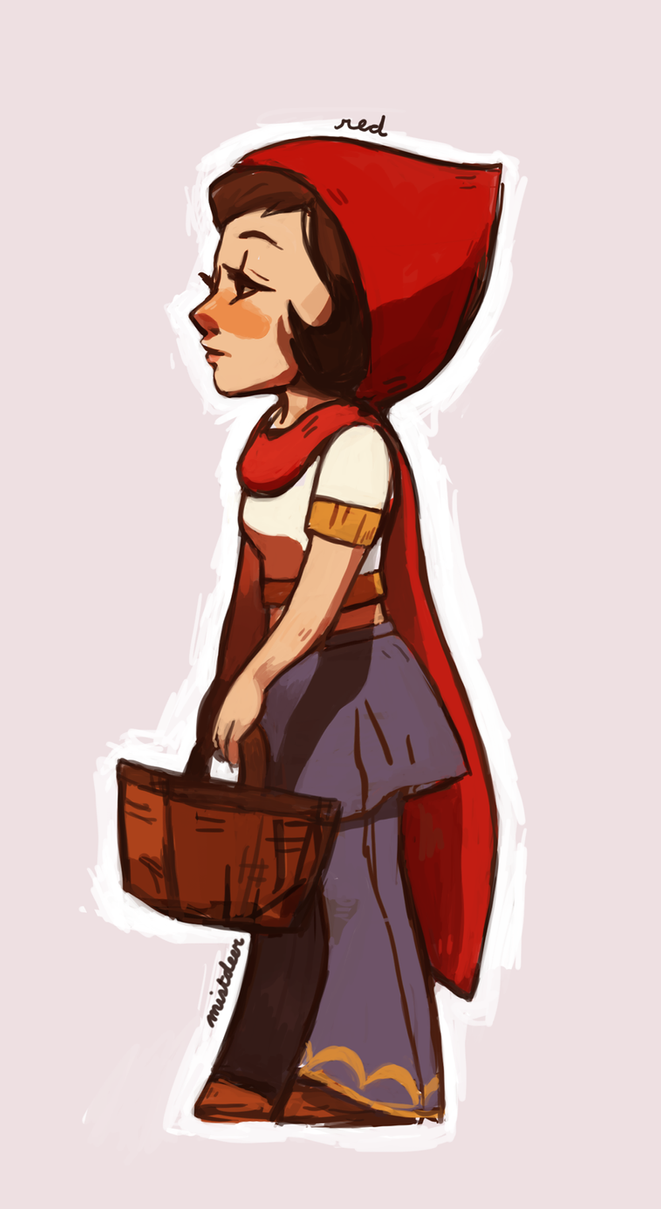 Hoodwinked Red lil red by mistdeer on...