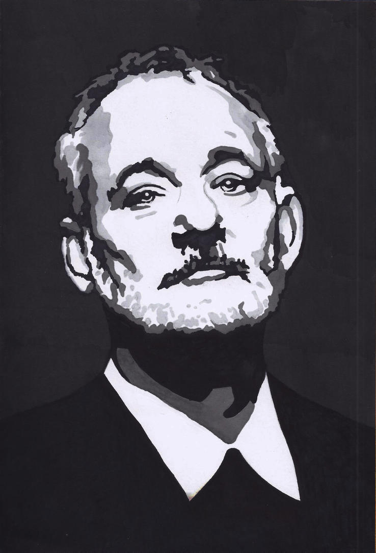 Bill Murray by Eurasian17