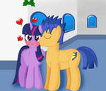 Under the Mistletoe with the Princess