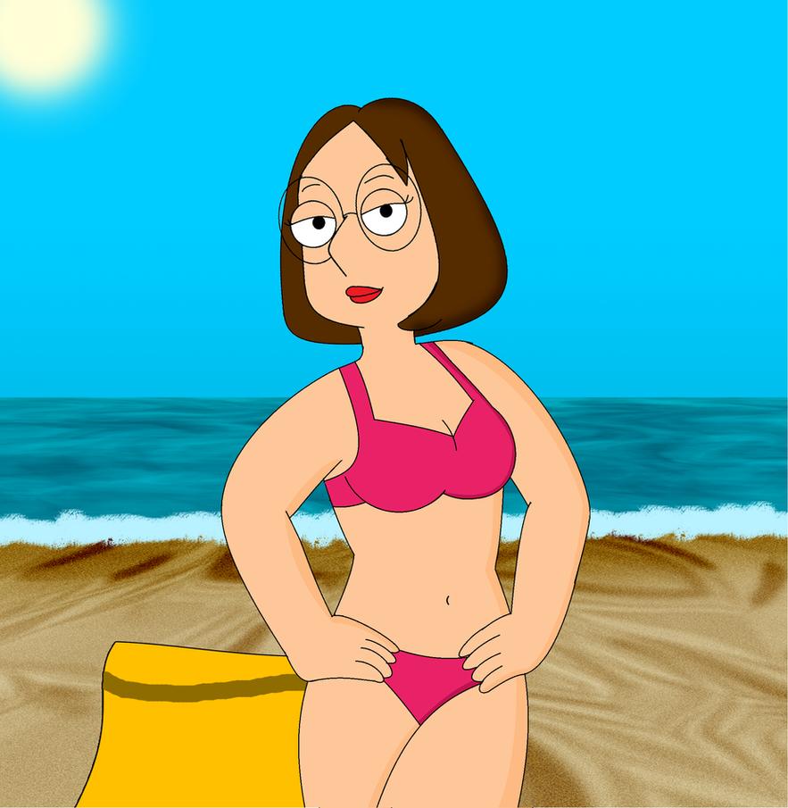 Meg Griffin: Bikini Pose by Cyber-murph on DeviantArt