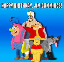 Happy Birthday, Jim Cummings! by Cyber-murph