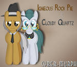 Igneous Rock Pie and Cloudy Quartz