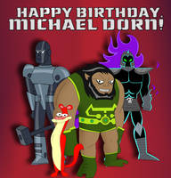 Happy Birthday, Michael Dorn! by Cyber-murph