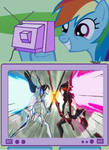 Rainbow Dash Likes Kill La Kill.