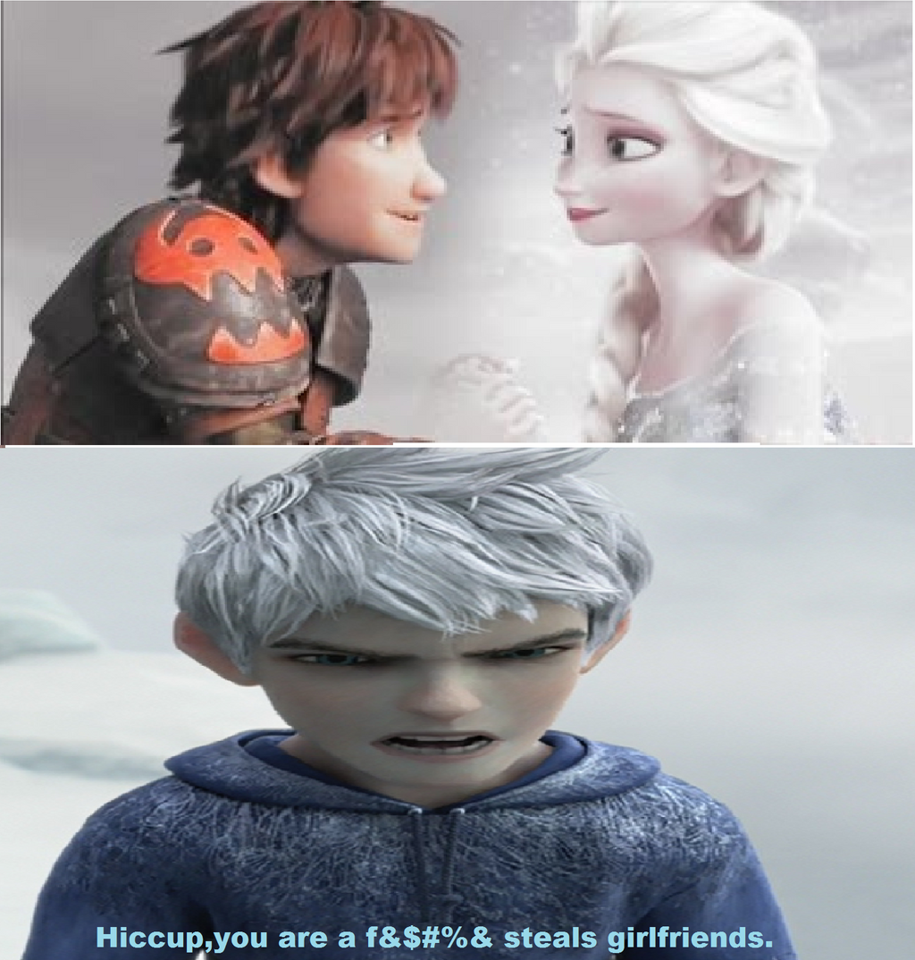 Love is an Escape ♥: The Best of Jack Frost's Scenes |Jack Frost Angry
