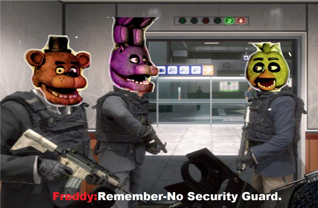 Remeber,No Security Guard(No Russian Meme). by brandonale ...