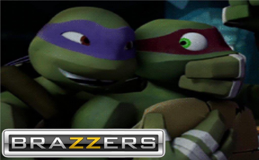 teenage mutant ninja turtles april and donnie