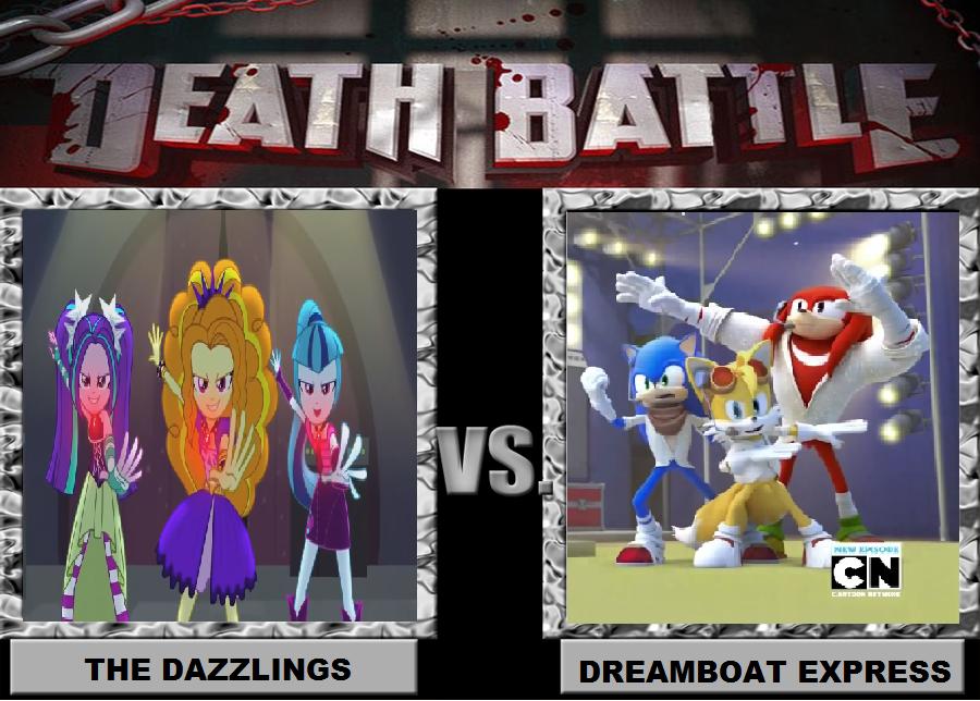 Death Battle The Dazzlings Vs Dreamboat Express By Brandonale On Deviantart