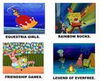Spongebob Equestria Girls Saga Meme.