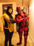 Scorpion and Deadpool Cosplay. by brandonale