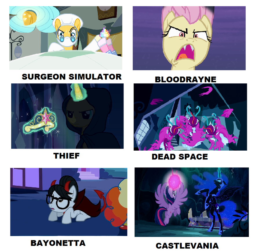 my_little_pony_videogames_meme_12_by_brandonale daytmj3 my little pony videogames meme 12 by brandonale on deviantart