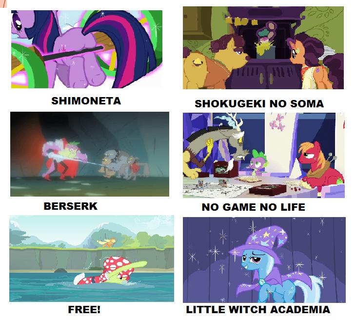 My Little Pony Anime Meme 7 By Brandonale On Deviantart