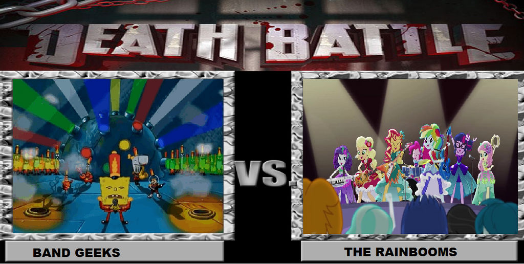 Death Battle Band Geeks Vs The Rainbooms By Brandonale On