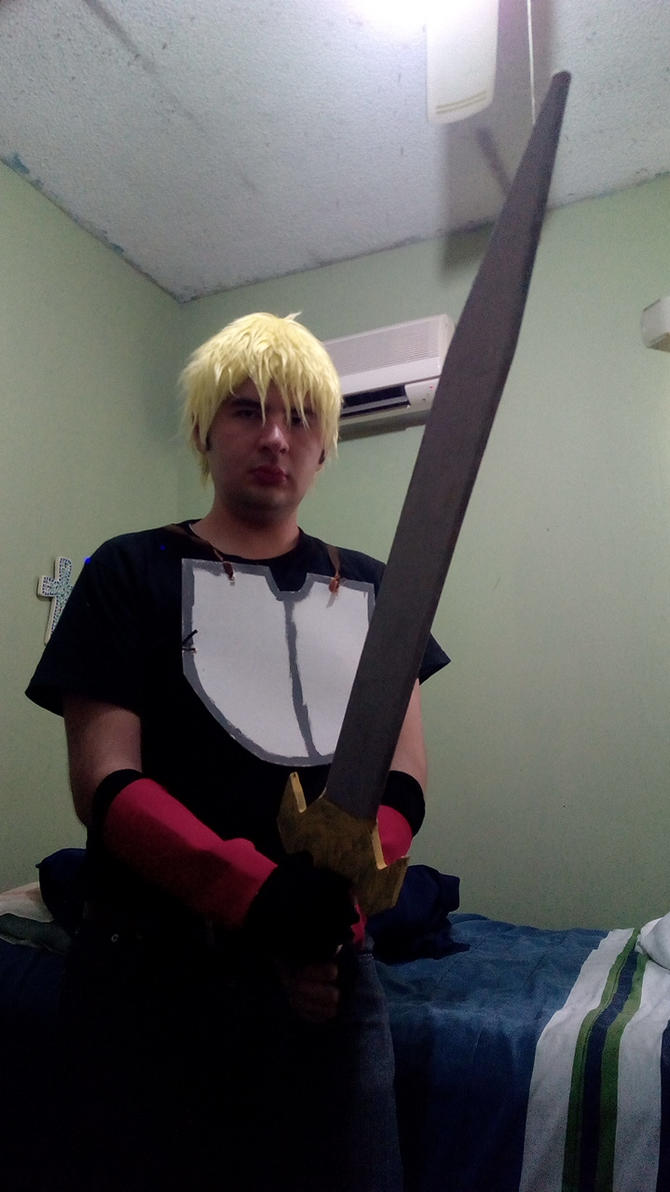 Jaune Arc Instant Cosplay. by brandonale