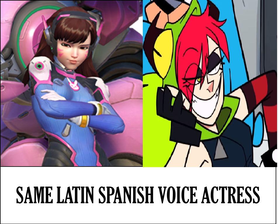 Demencia/D va Same Latin Spanish Voice Actress  by