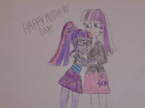 Happy Mother's Day Colored.