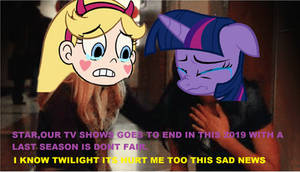Reaction the last Season of MLP and SVTFOE. by brandonale