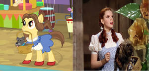The Wizard of Oz Reference in My Little Pony.