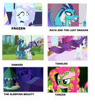 disney movies portrayed by MLP. 2