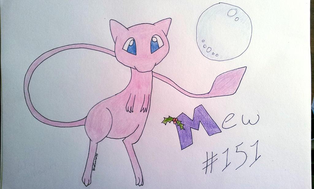 Mew #151 by BlueScarlet77