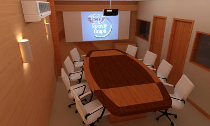Meeting Room by dleafy