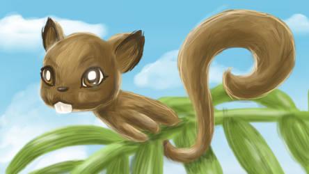 Esquilo da ilha by dleafy