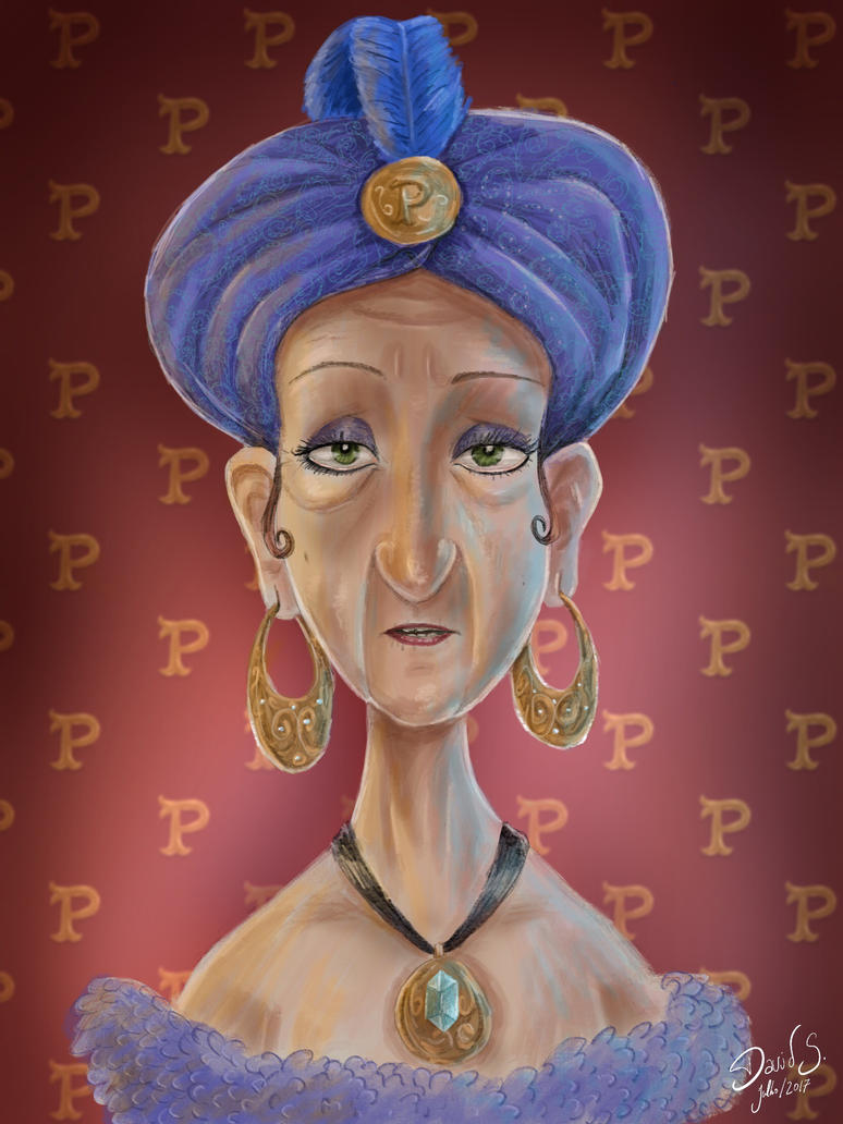 Madam Pampilhosa by dleafy