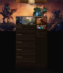 World of Warcraft Layout #4