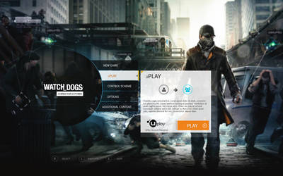 Watch Dogs UI Style