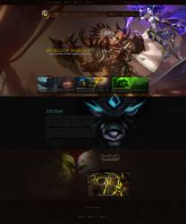 World of Warcraft Layout #6